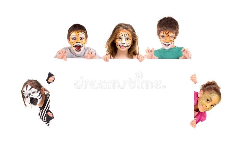 Πρόσωπο-χρώμα στοκ εικόνες