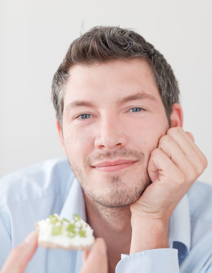 Πρόσωπο ψωμιού στοκ εικόνες με δικαίωμα ελεύθερης χρήσης