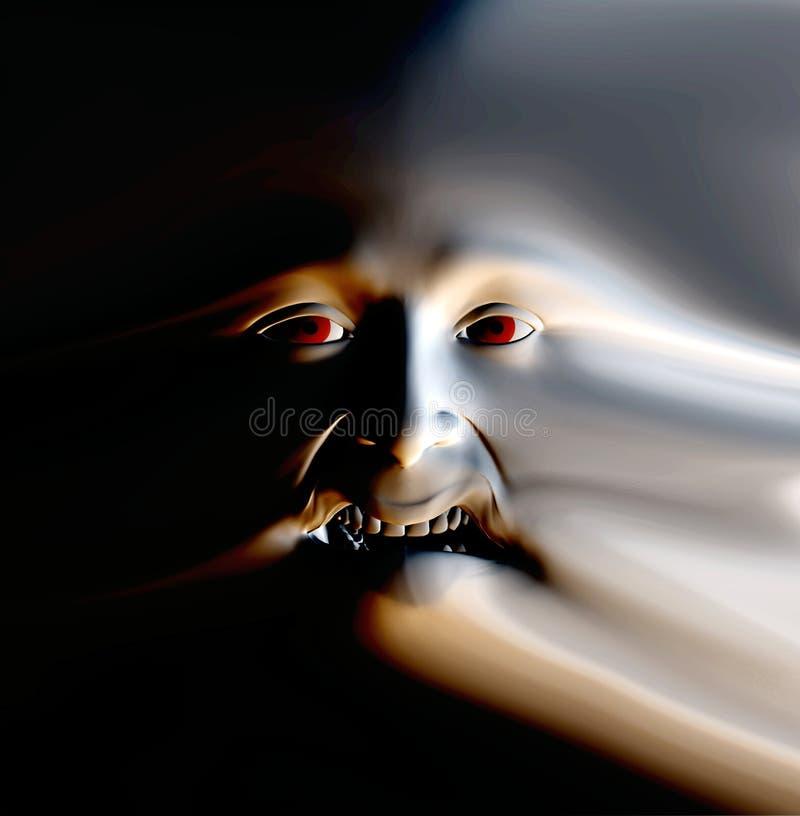 Πρόσωπο 26 φρίκης ελεύθερη απεικόνιση δικαιώματος