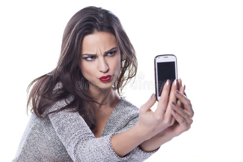 Πρόσωπο Selfie παπιών στοκ φωτογραφίες με δικαίωμα ελεύθερης χρήσης
