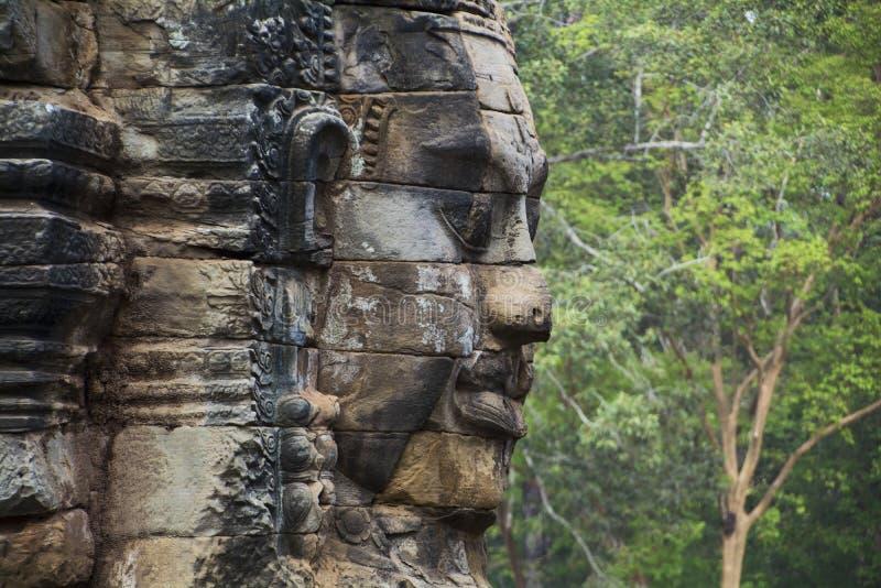 Πρόσωπο Thom Angkor στοκ εικόνες
