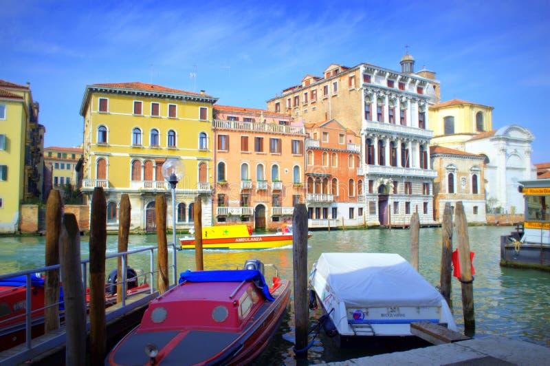 Πρόσδεση της Βενετίας, Ιταλία στοκ φωτογραφία με δικαίωμα ελεύθερης χρήσης