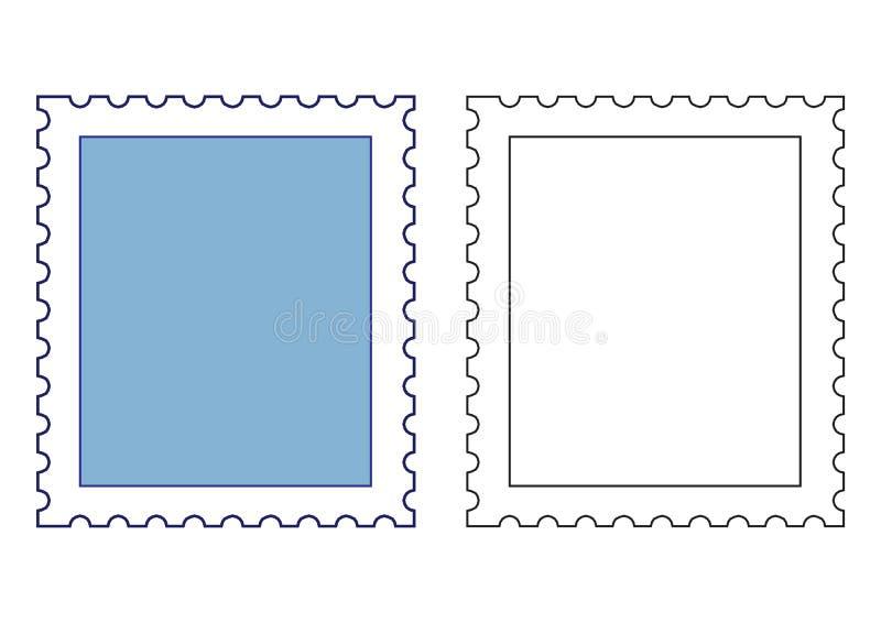 πρότυπα γραμματοσήμων απεικόνιση αποθεμάτων