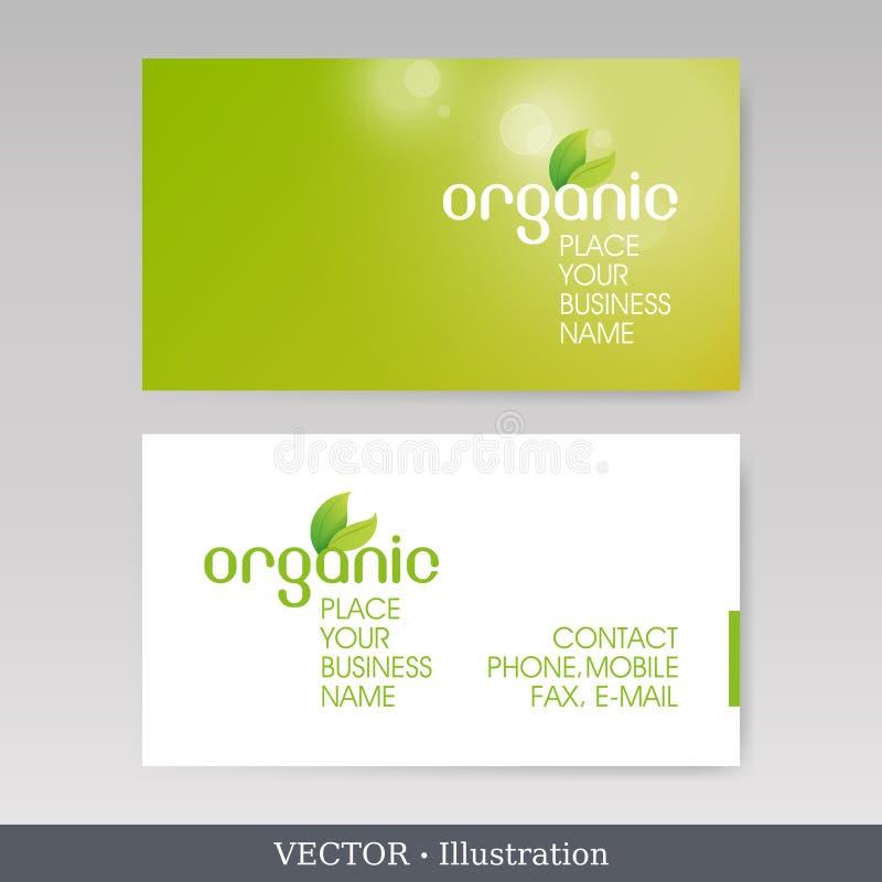 Πρότυπα επαγγελματικών καρτών. Διανυσματική απεικόνιση απεικόνιση αποθεμάτων