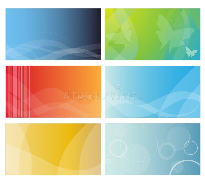 πρότυπα επαγγελματικών καρτών ελεύθερη απεικόνιση δικαιώματος