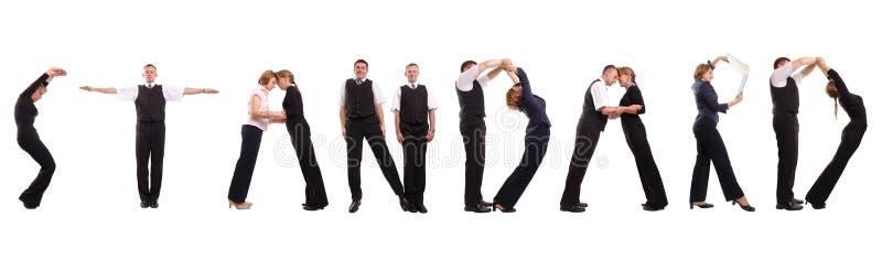πρότυπα ομάδας στοκ φωτογραφία