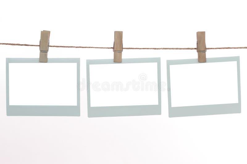 πρότυπα polaroid απεικόνιση αποθεμάτων