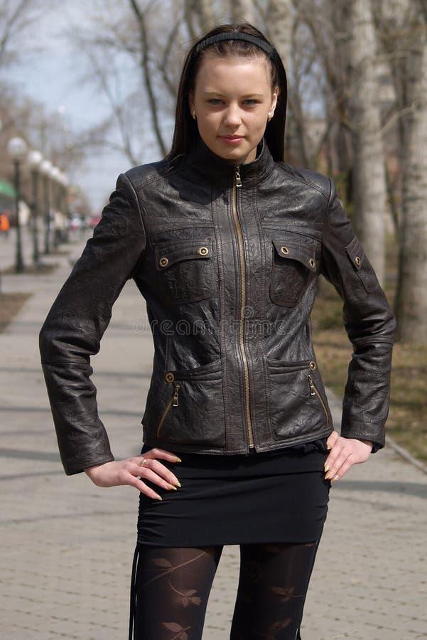 πρότυπες νεολαίες μόδας στοκ εικόνα με δικαίωμα ελεύθερης χρήσης