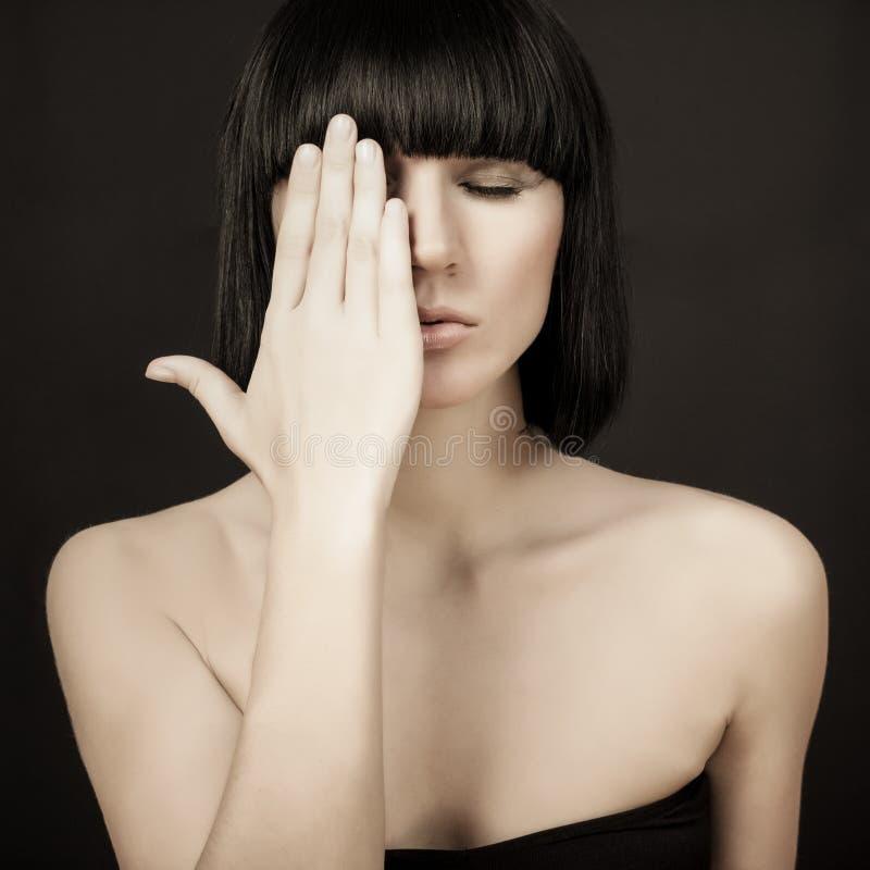 πρότυπη αισθησιακή γυναίκα στοκ φωτογραφίες με δικαίωμα ελεύθερης χρήσης