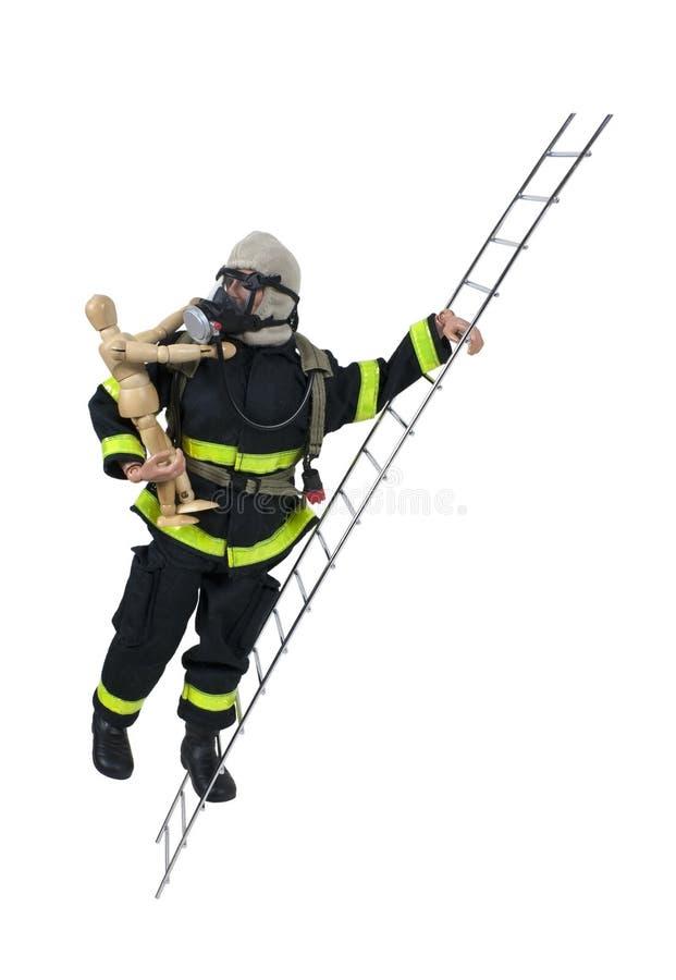 πρότυπη διάσωση σκαλών πυρ&o στοκ φωτογραφία με δικαίωμα ελεύθερης χρήσης