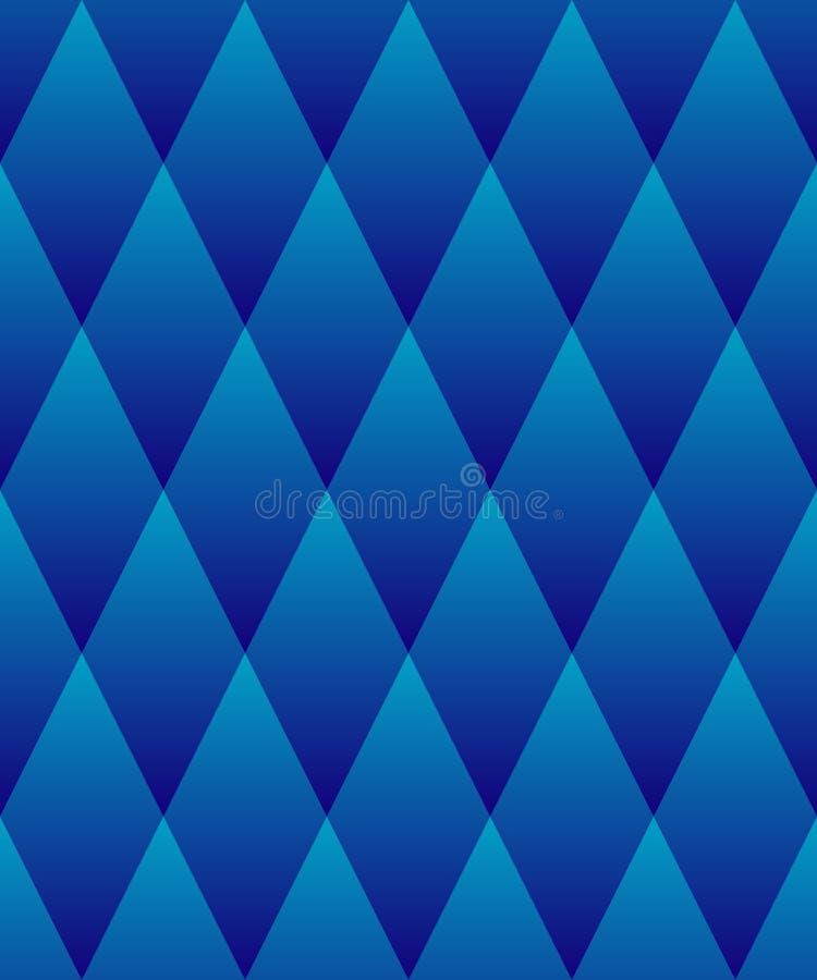 πρότυπο άνευ ραφής Γεωμετρικά κεραμίδια με τα rhombuses απεικόνιση αποθεμάτων