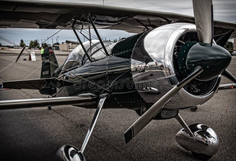 Πρότυπο αεροπλάνο 12 ακροβατικής επίδειξης Pitts στοκ εικόνα με δικαίωμα ελεύθερης χρήσης