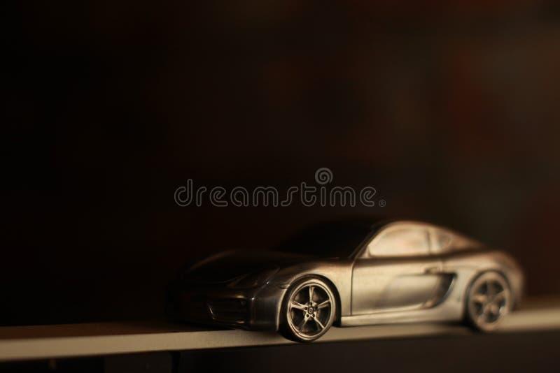Πρότυπο αλουμίνιο Porsche cayman στοκ εικόνες
