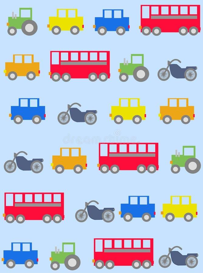 πρότυπο αυτοκινήτων άνευ &rh απεικόνιση αποθεμάτων