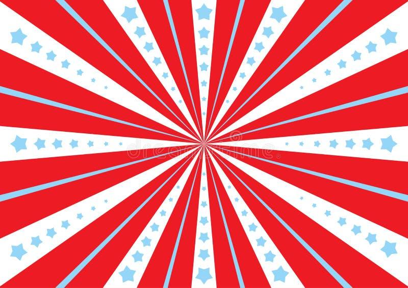 Πρότυπο αφισών για το τσίρκο, διανυσματική απεικόνιση