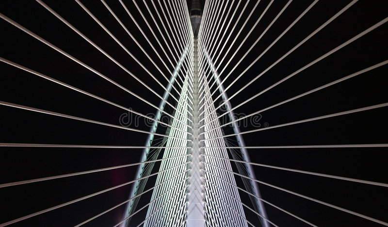 πρότυπο γεφυρών στοκ εικόνες