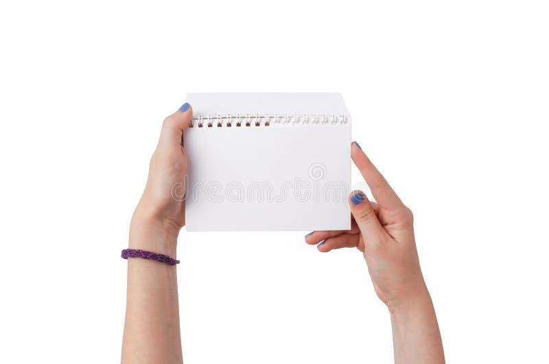 Πρότυπο για την παρουσίαση του νέου σχεδίου στοκ φωτογραφίες με δικαίωμα ελεύθερης χρήσης