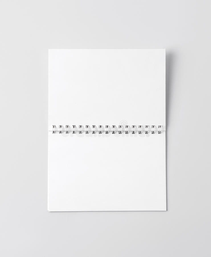 Πρότυπο για την παρουσίαση του νέου σχεδίου στοκ φωτογραφία με δικαίωμα ελεύθερης χρήσης