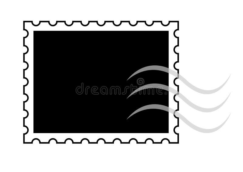 πρότυπο γραμματοσήμων απεικόνιση αποθεμάτων