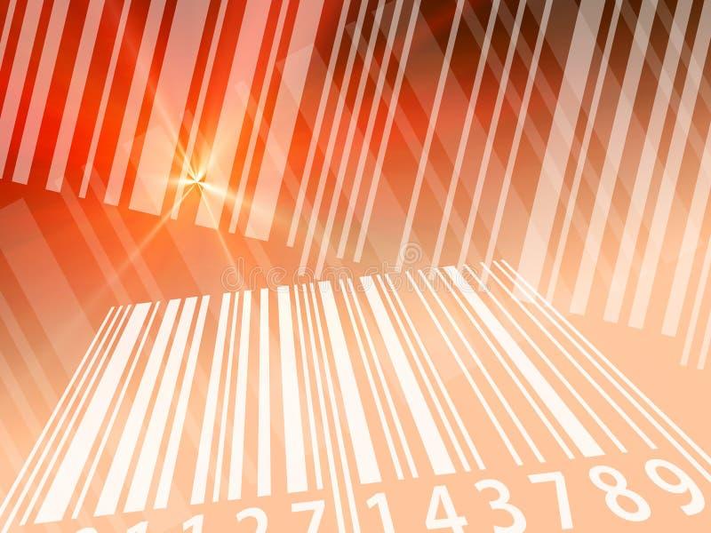πρότυπο γραμμωτών κωδίκων διανυσματική απεικόνιση