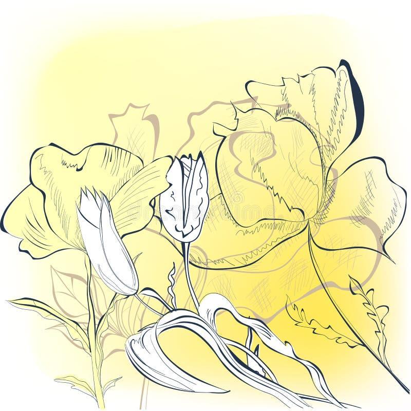 Download πρότυπο δώρων καρτών διανυσματική απεικόνιση. εικονογραφία από τρύγος - 22781169