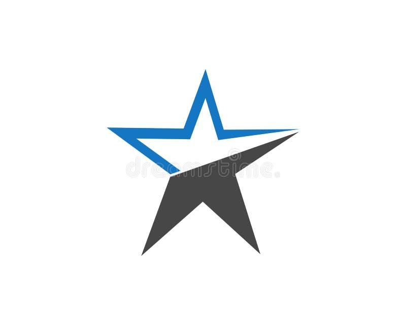 Πρότυπο εικονιδίων αστεριών ελεύθερη απεικόνιση δικαιώματος