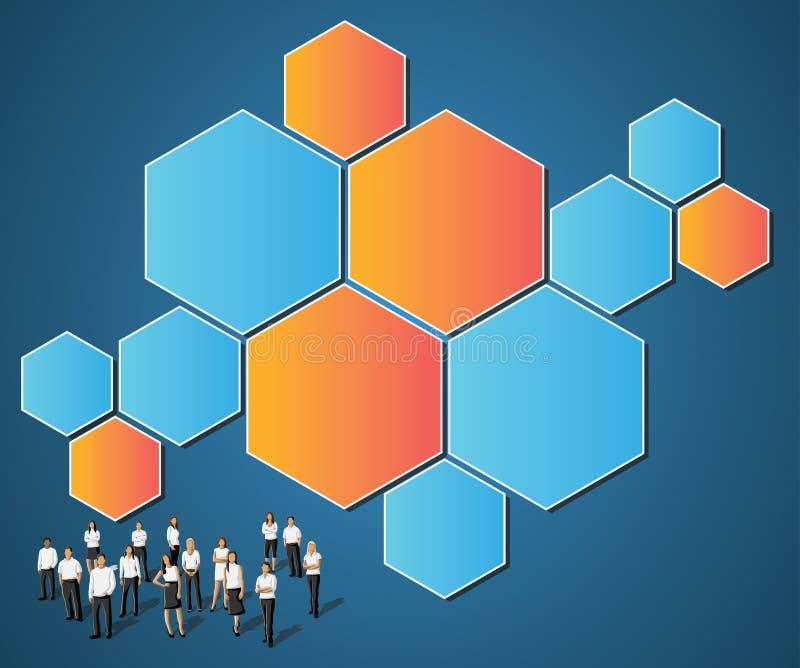 πρότυπο επιχειρηματιών απεικόνιση αποθεμάτων