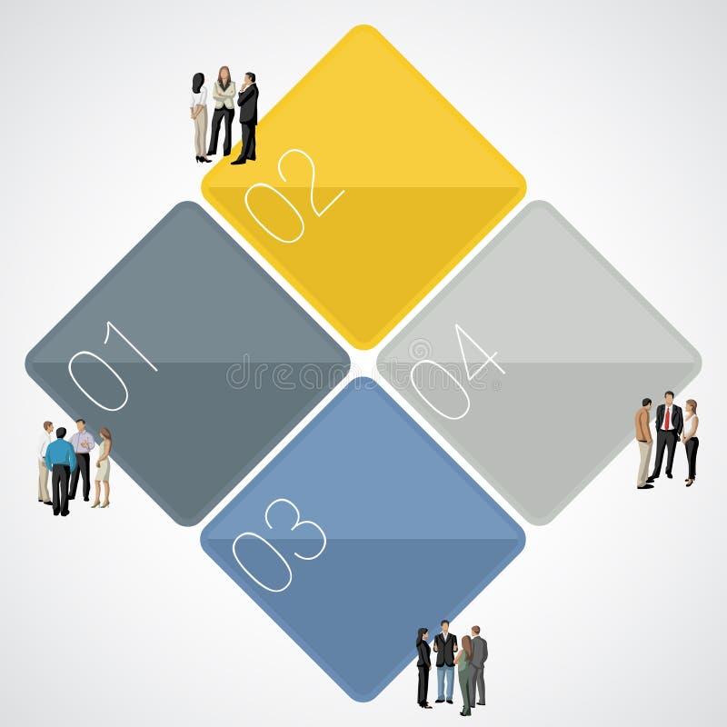 πρότυπο επιχειρηματιών ελεύθερη απεικόνιση δικαιώματος