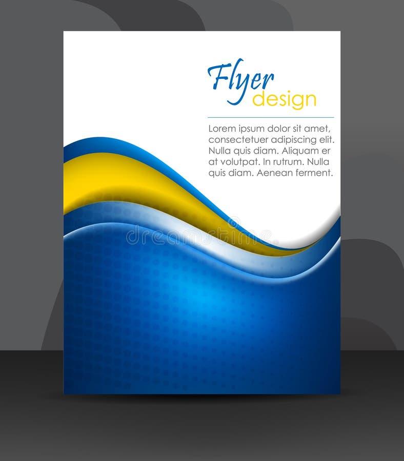Πρότυπο επιχειρησιακών ιπτάμενων ή εταιρικό έμβλημα, σχέδιο κάλυψης, φυλλάδιο διανυσματική απεικόνιση