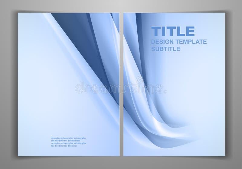 Πρότυπο επιχειρησιακών μπροστινό και πίσω ιπτάμενων ελεύθερη απεικόνιση δικαιώματος