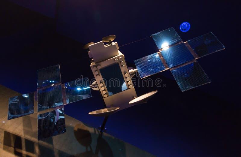 Πρότυπο διαστημικό σκάφος στοκ φωτογραφία