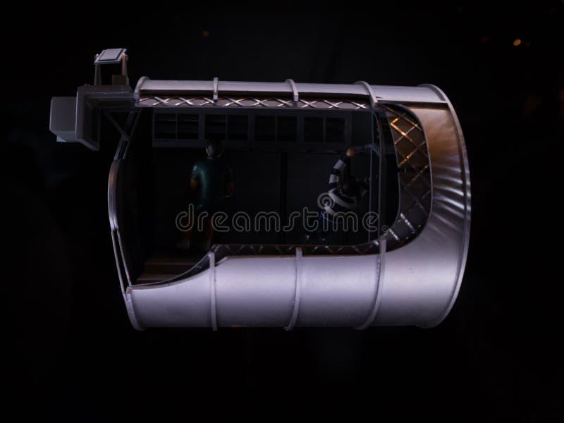 Πρότυπο διαστημικό σκάφος στοκ εικόνες