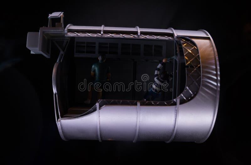 Πρότυπο διαστημικό σκάφος στοκ εικόνα με δικαίωμα ελεύθερης χρήσης