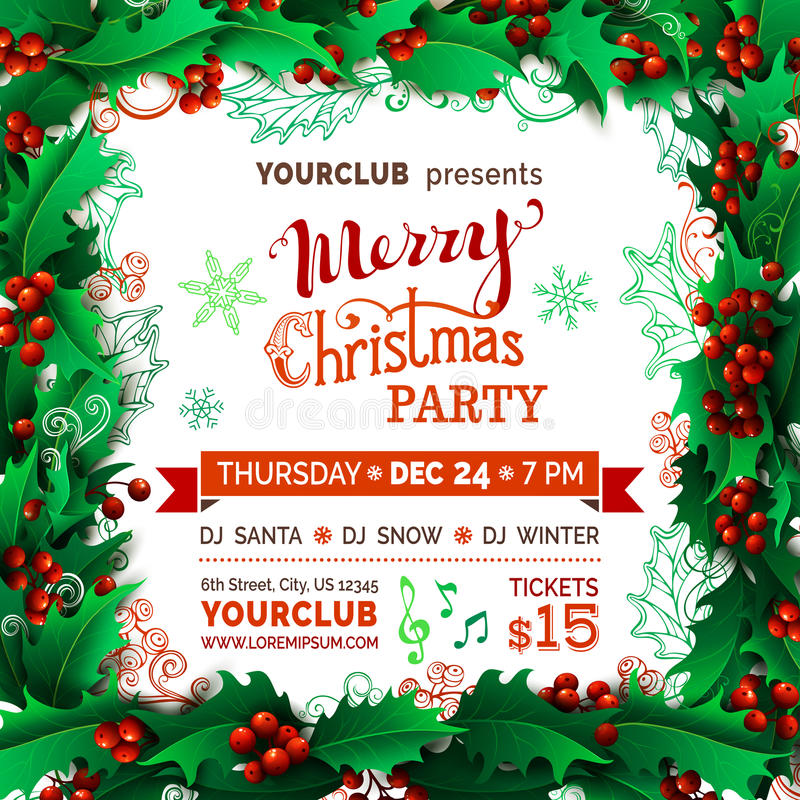Download Πρότυπο κομμάτων Χαρούμενα Χριστούγεννας Διανυσματική απεικόνιση - εικονογραφία από party, ημερομηνία: 62720360