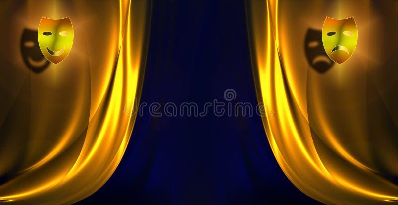 πρότυπο κουρτινών διανυσματική απεικόνιση