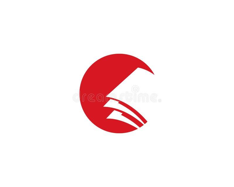 Πρότυπο λογότυπων βιβλίων εκπαίδευσης διανυσματική απεικόνιση