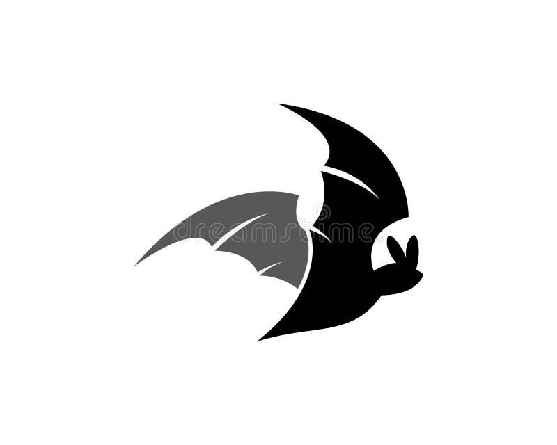 Πρότυπο λογότυπων ροπάλων διανυσματική απεικόνιση