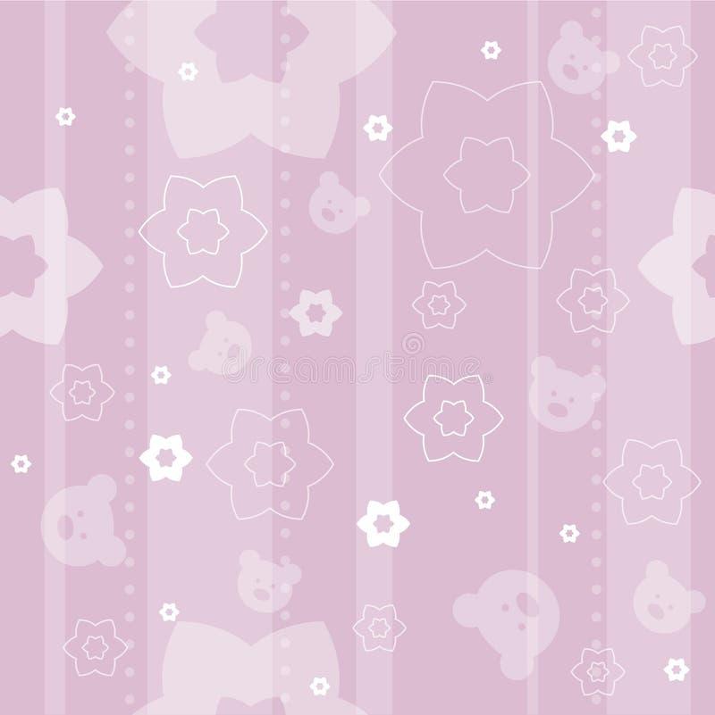 πρότυπο μωρών άνευ ραφής διανυσματική απεικόνιση