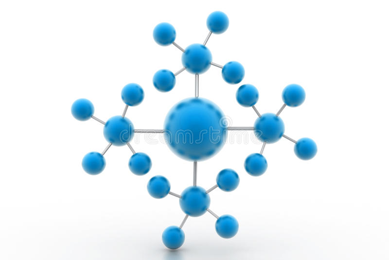 πρότυπο μόριο ελεύθερη απεικόνιση δικαιώματος