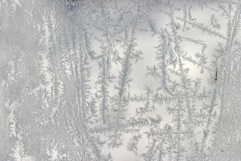 πρότυπο παγετού στοκ φωτογραφία