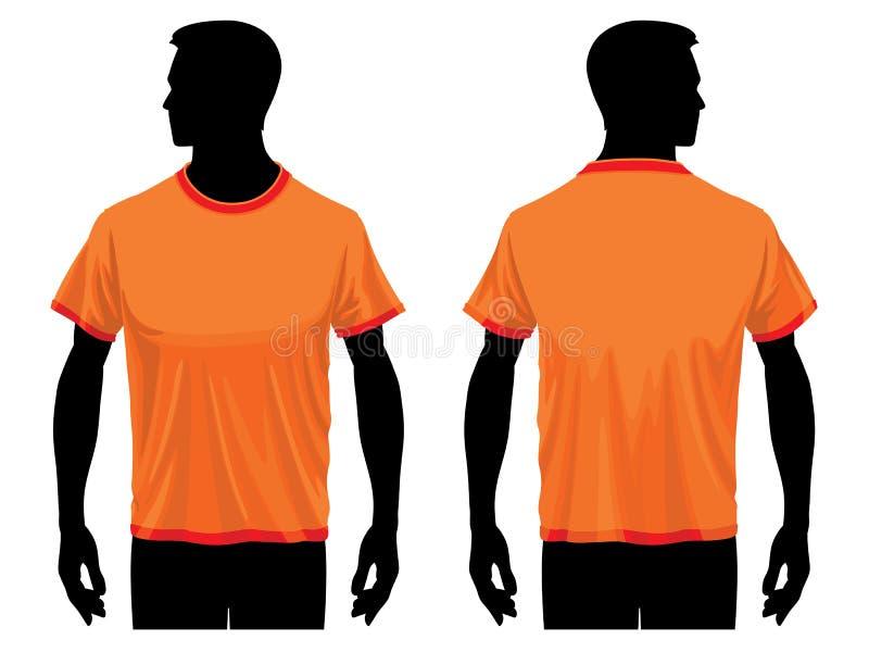 πρότυπο πουκάμισων τ απεικόνιση αποθεμάτων