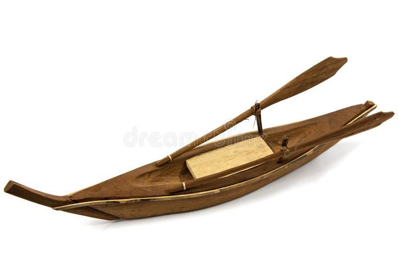πρότυπο σκάφος ξύλινο στοκ φωτογραφία