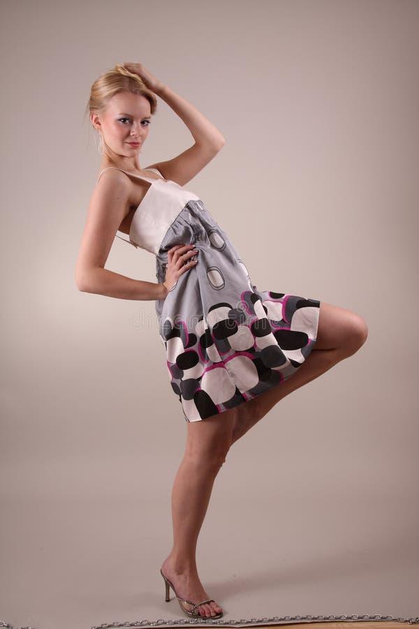 πρότυπο στούντιο μόδας στοκ εικόνες με δικαίωμα ελεύθερης χρήσης