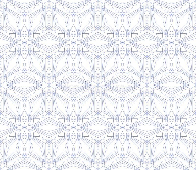 πρότυπο σχεδίου στο ελαφρύ σκηνικό γραφικός απλός σχεδίου Γεωμετρική απλή τυπωμένη ύλη υφάσματος μόδας απεικόνιση αποθεμάτων
