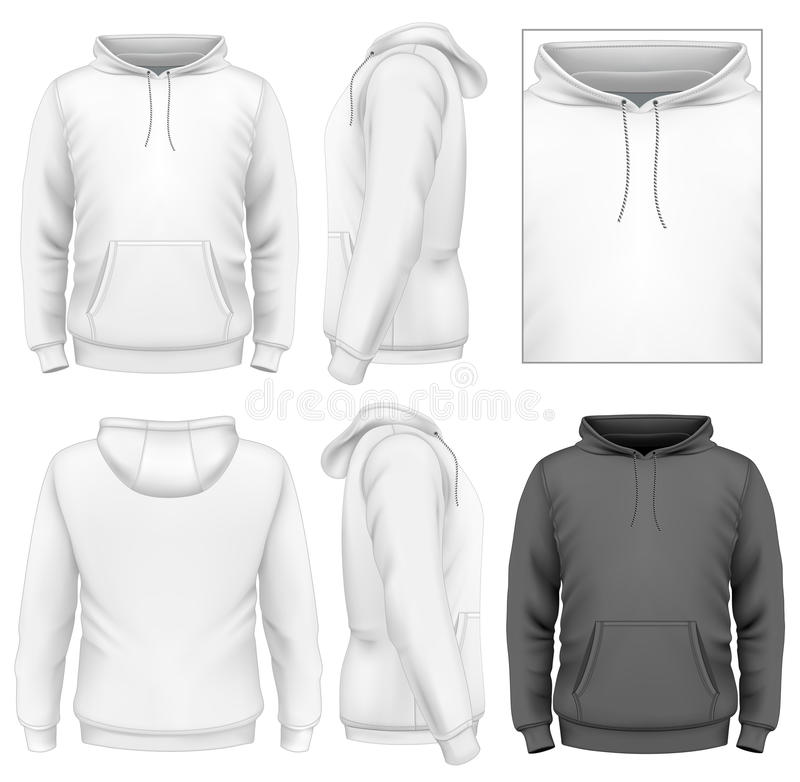 Πρότυπο σχεδίου ατόμων hoodie διανυσματική απεικόνιση