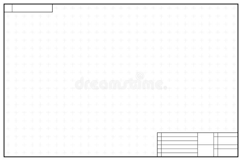 Πρότυπο σχεδιαγράμματος στο ύφος σχεδιαγραμμάτων με τα σημάδια ελεύθερη απεικόνιση δικαιώματος
