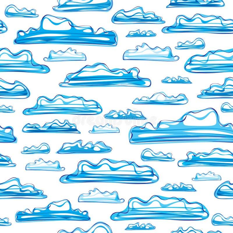 πρότυπο σύννεφων άνευ ραφής στοκ φωτογραφίες με δικαίωμα ελεύθερης χρήσης