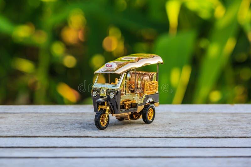 Πρότυπο ταξί Ταϊλάνδη Tuk Tuk στοκ εικόνες με δικαίωμα ελεύθερης χρήσης