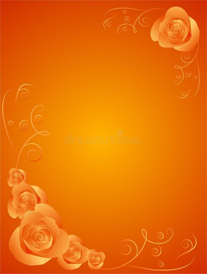 πρότυπο τριαντάφυλλων σχ&epsi ελεύθερη απεικόνιση δικαιώματος