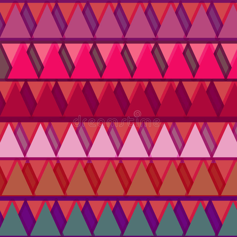 Πρότυπο τριγώνων στοκ εικόνες